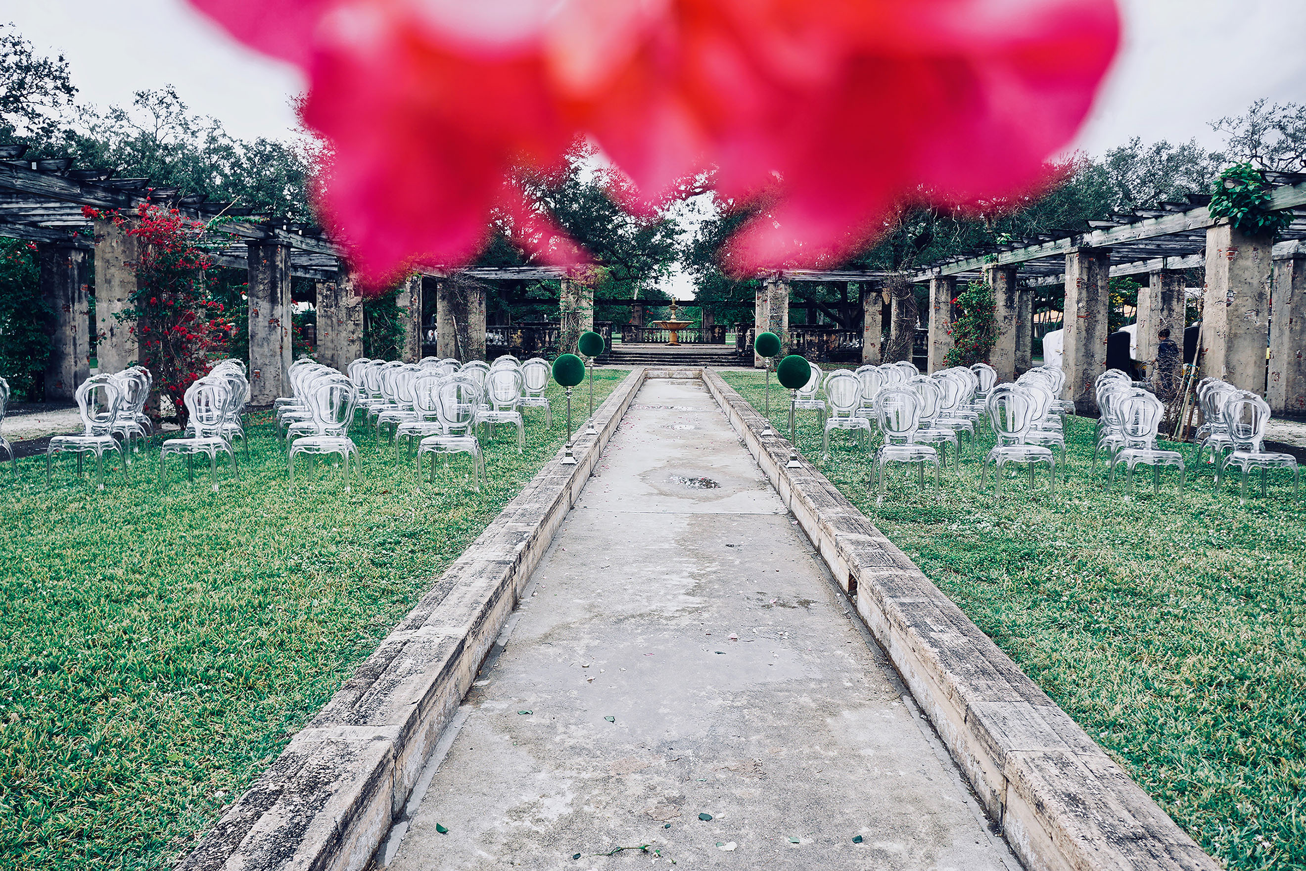 Coral Gables The Prado Belle Ghost Chairs